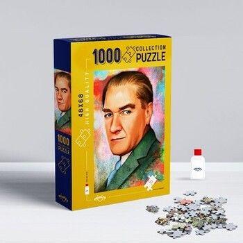 Oyunzu PuzzleAtatürk 1000 Parça Puzzle