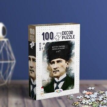 Oyunzu PuzzleAtatürk Decor 100 Parça Puzzle