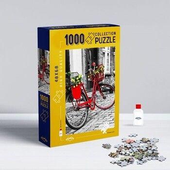 Oyunzu PuzzleBisiklet 1000 Parça Puzzle