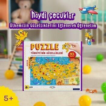 Oyunzu PuzzleÜlkemizin Güzelliklerini Öğrenelim 93 Parça Puzzle