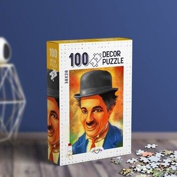 Oyunzu PuzzleCharlie Cahplin Decor 100 ParçaPuzzle