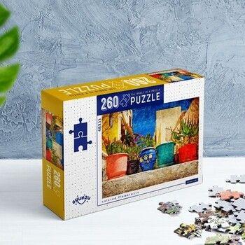 Oyunzu PuzzleColored Flowerpots 260 Parça Puzzle