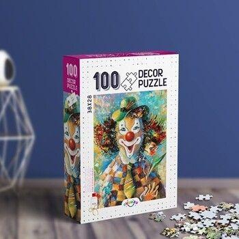 Oyunzu PuzzleDecor Palyaço 100 Parça Puzzle