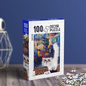 Oyunzu PuzzleKedi Decor 100 ParçaPuzzle
