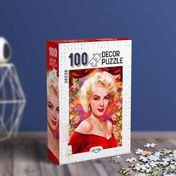 Oyunzu PuzzleMarilyn Monroe Decor 100 Parça Puzzle