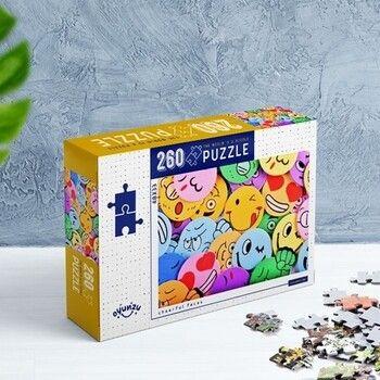 Oyunzu PuzzleNeşeli Yüzler Cheerful Faces 260 Parça Puzzle