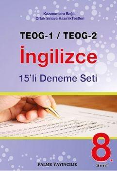 Palme 8. Sınıf TEOG 1 TEOG 2 İngilizce 15 li Deneme Seti