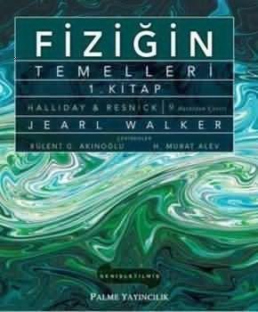 Palme Fiziğin Temelleri 1. Kitap HALLIDAY & RESNIK