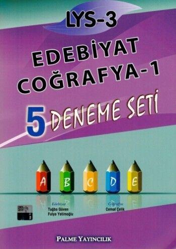 Palme LYS 3 Edebiyat Coğrafya-1 5 Deneme Seti