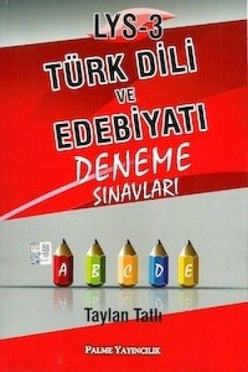 Palme LYS - 3 Türk Dili ve Edebiyatı Deneme Sınavları