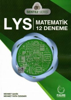 Palme LYS Sentez Serisi Matematik 12 Deneme