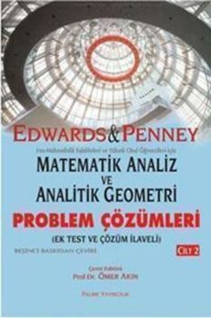 Palme Matematik Analiz ve Analitik Geometri Problem Çözümleri Cilt 2