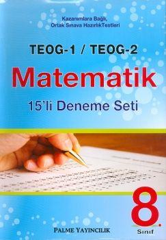 Palme TEOG 1 TEOG 2 Matematik 15 Deneme