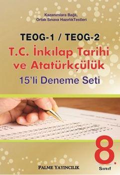 Palme TEOG 1 TEOG 2 T.C. İnkılap Tarihi ve Atatürkçülük 15 Deneme