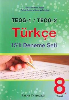 Palme TEOG 1 TEOG 2 Türkçe 15 Deneme