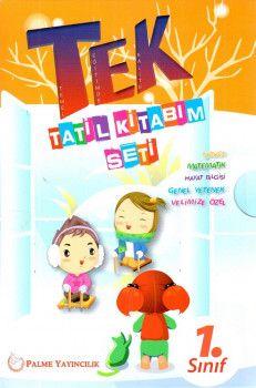 Palme Yayınları 1. Sınıf TEK Tatil Kitabım Seti
