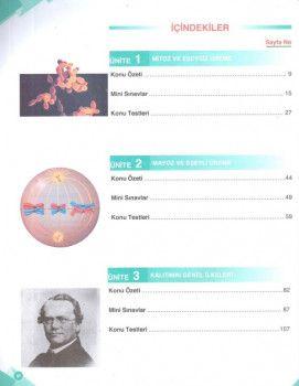 Palme Yayınları 10. Sınıf Fen Liseleri Biyoloji Soru Kitabı