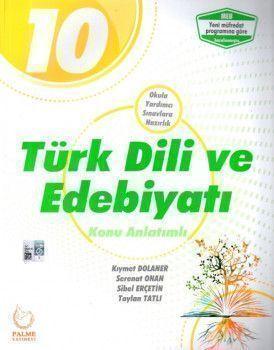 Palme Yayınları 10. Sınıf Türk Dili ve Edebiyatı Konu Anlatımlı