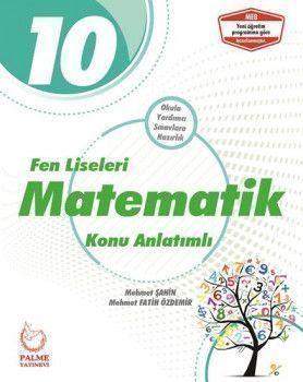 Palme Yayınları 10. Sınıf Fen Lisesi Matematik Konu Anlatımlı