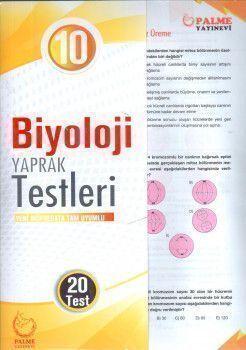 Palme Yayınları 10. Sınıf Biyoloji Yaprak Test