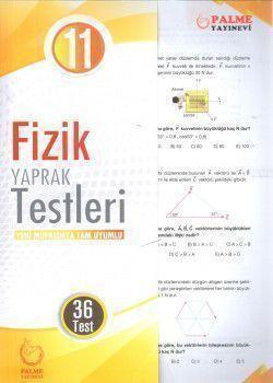 Palme Yayınları 11. Sınıf Fizik Yaprak Testleri