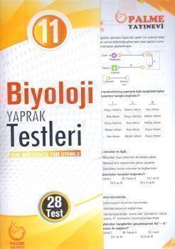 Palme Yayınları 11. Sınıf Biyoloji Yaprak Testleri