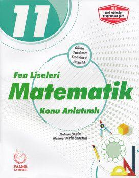 Palme Yayınları 11. Sınıf Fen Liseleri Matematik Konu Anlatımlı