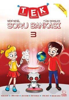 Palme Yayınları 3. Sınıf Tüm Dersler Yeni Nesil Soru Bankası