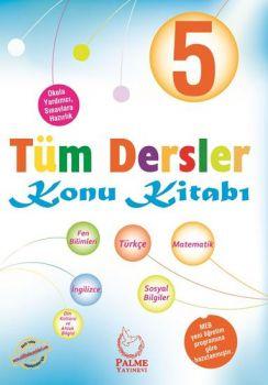 Palme Yayınları 5. Sınıf Tüm Dersler Konu Kitabı
