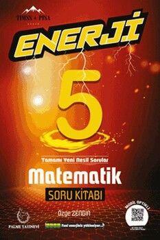 Palme Yayınları 5. Sınıf Matematik Enerji Soru Kitabı