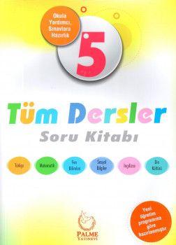 Palme Yayınları 5. Sınıf Tüm Dersler Soru Kitabı