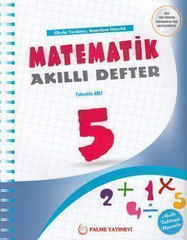 Palme Yayınları 5. Sınıf Matematik Akıllı Defter