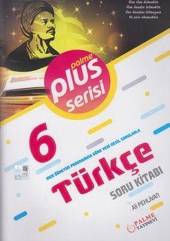 Palme Yayınları 6. Sınıf Türkçe Plus Serisi Soru Kitabı