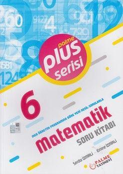 Palme Yayınları 6. Sınıf Matematik Plus Serisi Soru Kitabı
