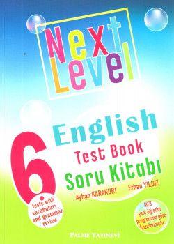 Palme Yayınları 6. Sınıf Next Level English Test Book Soru Kitabı