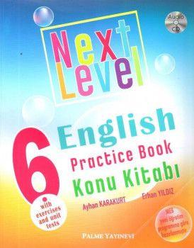 Palme Yayınları 6. Sınıf Next Level Practice Book Konu Kitabı