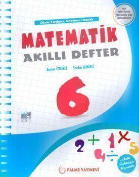 Palme Yayınları 6. Sınıf Matematik Akıllı Defter