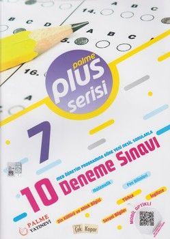 Palme Yayınları 7. Sınıf 10 Deneme Sınavı Plus Serisi