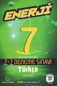Palme Yayınları 7. Sınıf Türkçe Enerji 7 + 7 Deneme