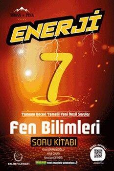 Palme Yayınları 7. Sınıf Fen Bilimleri Enerji Soru Kitabı