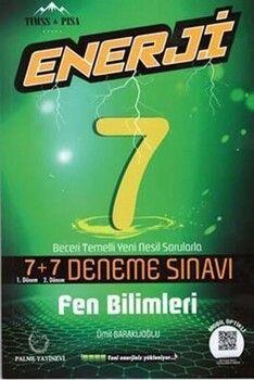 Palme Yayınları 7. Sınıf Fen Bilimleri Enerji 7+7 Deneme Sınavı