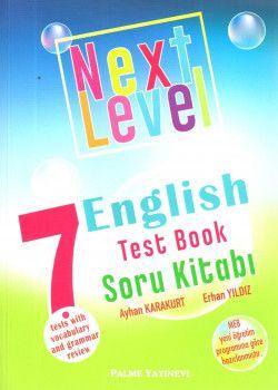 Palme Yayınları 7. Sınıf Next Level English Test Book Soru Kitabı