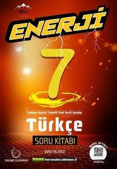 Palme Yayınları 7. Sınıf Türkçe Enerji Soru Kitabı