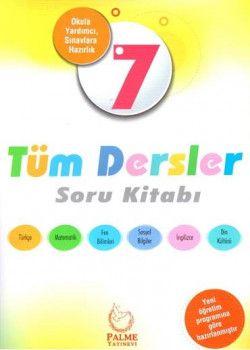 Palme Yayınları 7. Sınıf Tüm Dersler Soru Kitabı