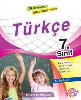 Palme Yayınları 7. Sınıf Türkçe Konu Anlatımlı