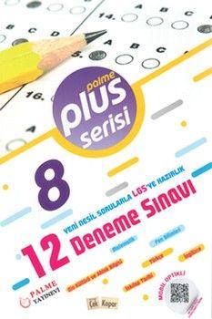 Palme Yayınları 8. Sınıf LGS 12 Deneme Sınavı