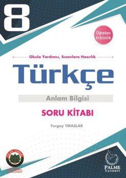 Palme Yayınları 8. Sınıf Türkçe Anlam Bilgisi Soru Kitabı