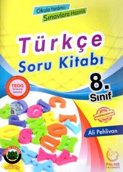 Palme Yayınları 8. Sınıf Türkçe Soru Kitabı