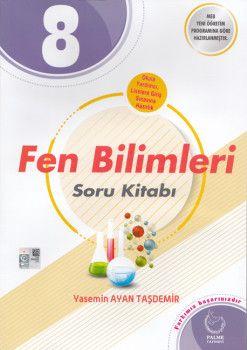 Palme Yayınları 8. Sınıf Fen Bilimleri Soru Kitabı
