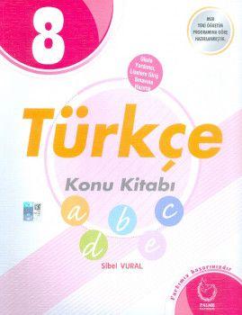 Palme Yayınları 8. Sınıf Türkçe Konu Kitabı